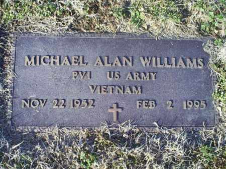 WILLIAMS, MICHAEL ALAN - Ross County, Ohio | MICHAEL ALAN WILLIAMS - Ohio Gravestone Photos