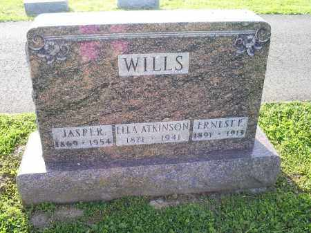ATKINSON WILLS, ELLA - Ross County, Ohio | ELLA ATKINSON WILLS - Ohio Gravestone Photos
