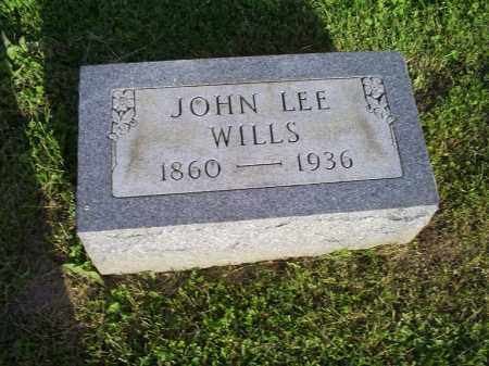 WILLS, JOHN LEE - Ross County, Ohio | JOHN LEE WILLS - Ohio Gravestone Photos