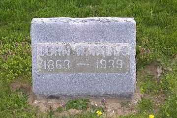 WILLS, JOHN W. - Ross County, Ohio   JOHN W. WILLS - Ohio Gravestone Photos