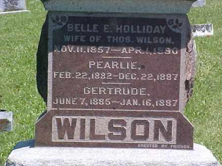 WILSON, PEARLIE - Ross County, Ohio | PEARLIE WILSON - Ohio Gravestone Photos