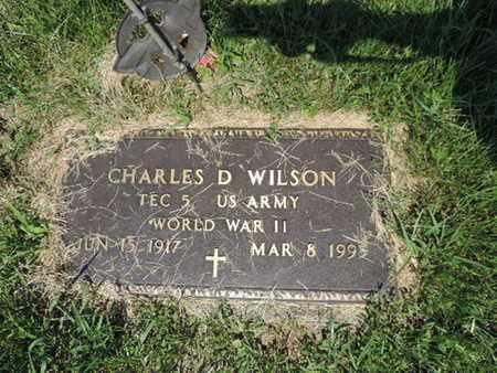 WILSON, CHARLES D - Ross County, Ohio | CHARLES D WILSON - Ohio Gravestone Photos