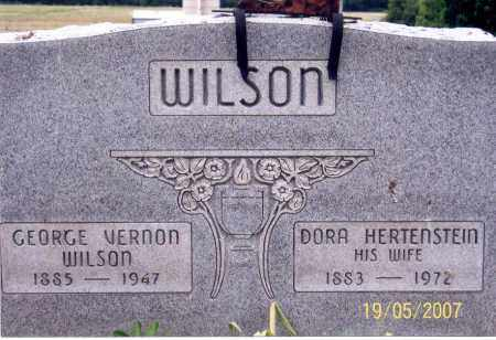 WILSON, DORA - Ross County, Ohio | DORA WILSON - Ohio Gravestone Photos