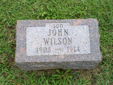WILSON, JOHN - Ross County, Ohio | JOHN WILSON - Ohio Gravestone Photos