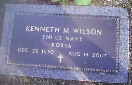 WILSON, KENNETH M. - Ross County, Ohio | KENNETH M. WILSON - Ohio Gravestone Photos