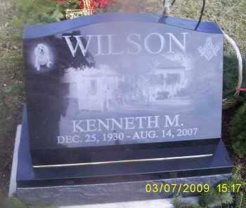 WILSON, KENNETH M. - Ross County, Ohio | KENNETH M. WILSON - Ohio Gravestone Photos
