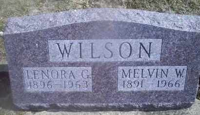 WILSON, LENORA G. - Ross County, Ohio | LENORA G. WILSON - Ohio Gravestone Photos