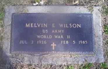 WILSON, MELVIN E. - Ross County, Ohio | MELVIN E. WILSON - Ohio Gravestone Photos