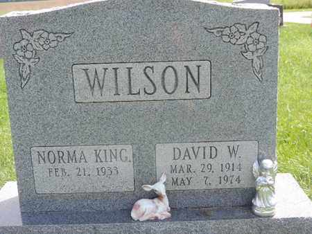 KING WILSON, NORMA - Ross County, Ohio | NORMA KING WILSON - Ohio Gravestone Photos