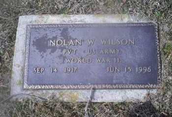WILSON, NOLAN W. - Ross County, Ohio | NOLAN W. WILSON - Ohio Gravestone Photos