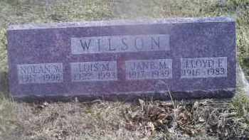 WILSON, JANE M. - Ross County, Ohio | JANE M. WILSON - Ohio Gravestone Photos