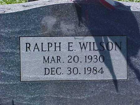 WILSON, RALPH E. - Ross County, Ohio | RALPH E. WILSON - Ohio Gravestone Photos