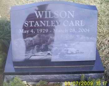 WILSON, STANLEY CARL - Ross County, Ohio | STANLEY CARL WILSON - Ohio Gravestone Photos