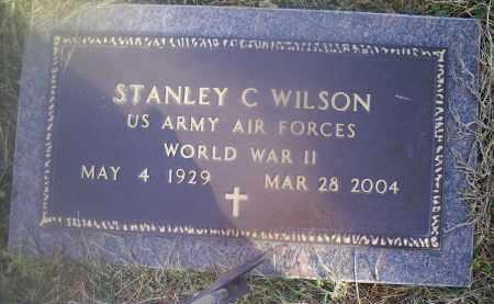 WILSON, STANLEY C. - Ross County, Ohio | STANLEY C. WILSON - Ohio Gravestone Photos