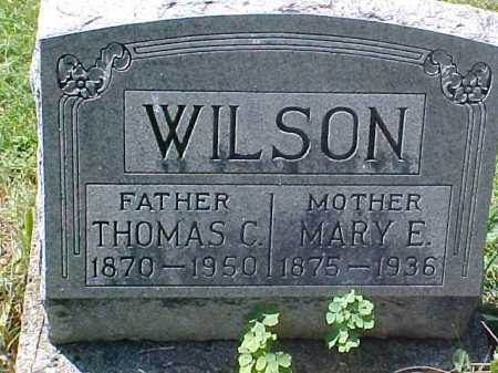 WILSON, MARY E - Ross County, Ohio | MARY E WILSON - Ohio Gravestone Photos