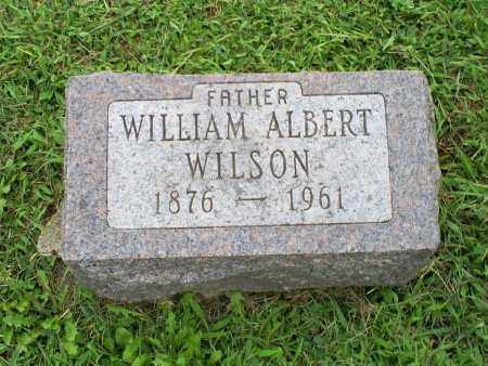 WILSON, WILLIAM ALBERT - Ross County, Ohio | WILLIAM ALBERT WILSON - Ohio Gravestone Photos