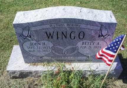 WINGO, JOHN H. - Ross County, Ohio | JOHN H. WINGO - Ohio Gravestone Photos