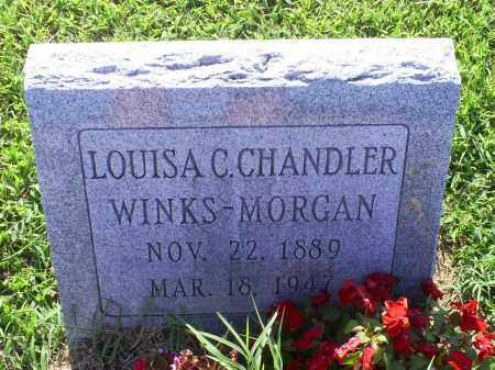 CHANDLER WINKS-MORGAN, LOUISA C. - Ross County, Ohio | LOUISA C. CHANDLER WINKS-MORGAN - Ohio Gravestone Photos