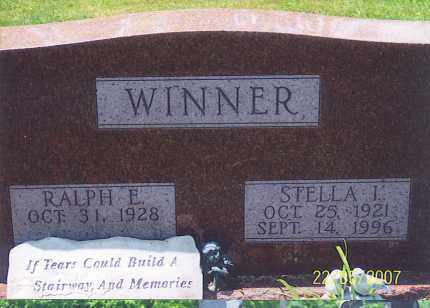 WINNER, STELLA I. - Ross County, Ohio | STELLA I. WINNER - Ohio Gravestone Photos