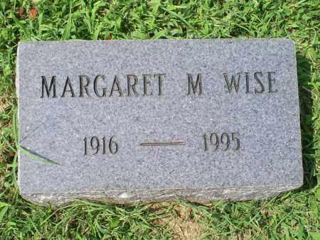 WISE, MARGARET M. - Ross County, Ohio | MARGARET M. WISE - Ohio Gravestone Photos
