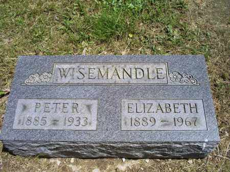 WISEMANDLE, PETER - Ross County, Ohio | PETER WISEMANDLE - Ohio Gravestone Photos