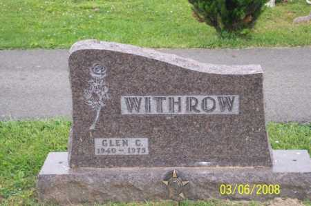 WITHROW, GLEN C. - Ross County, Ohio | GLEN C. WITHROW - Ohio Gravestone Photos