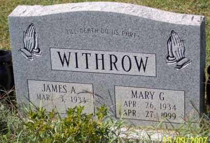 WITHROW, MARY G. - Ross County, Ohio | MARY G. WITHROW - Ohio Gravestone Photos