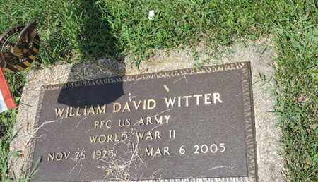 WITTER, WILLIAM DAVID - Ross County, Ohio | WILLIAM DAVID WITTER - Ohio Gravestone Photos