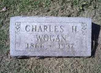 WOGAN, CHARLES H. - Ross County, Ohio | CHARLES H. WOGAN - Ohio Gravestone Photos