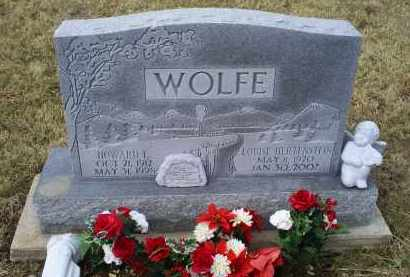 WOLFE, LOUISE - Ross County, Ohio | LOUISE WOLFE - Ohio Gravestone Photos