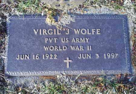 WOLFE, VIRGIN J. - Ross County, Ohio | VIRGIN J. WOLFE - Ohio Gravestone Photos