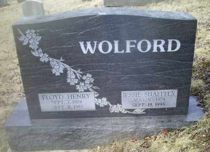 SHAEFFER WOLFORD, JESSIE - Ross County, Ohio | JESSIE SHAEFFER WOLFORD - Ohio Gravestone Photos