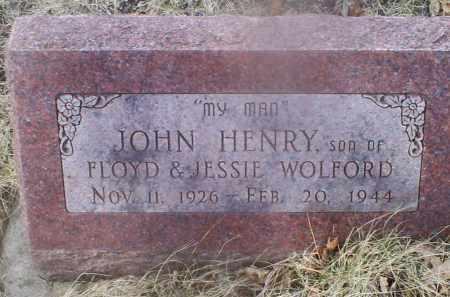 WOLFORD, JOHN HENRY - Ross County, Ohio | JOHN HENRY WOLFORD - Ohio Gravestone Photos
