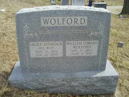 WOLFORD, WILLIAM EDWARD - Ross County, Ohio | WILLIAM EDWARD WOLFORD - Ohio Gravestone Photos