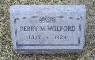 WOLFORD, PERRY M. - Ross County, Ohio | PERRY M. WOLFORD - Ohio Gravestone Photos