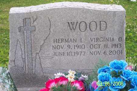 WOOD, VIRGINIA O. - Ross County, Ohio | VIRGINIA O. WOOD - Ohio Gravestone Photos