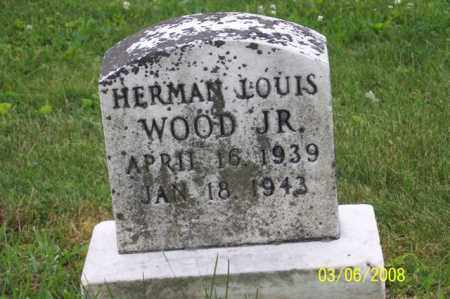 WOOD, JR., HERMAN LOUIS - Ross County, Ohio | HERMAN LOUIS WOOD, JR. - Ohio Gravestone Photos