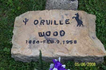 WOOD, ORVILLE - Ross County, Ohio | ORVILLE WOOD - Ohio Gravestone Photos