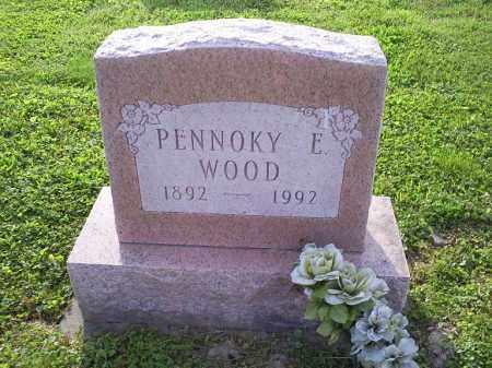 WOOD, PENNOKY E. - Ross County, Ohio | PENNOKY E. WOOD - Ohio Gravestone Photos