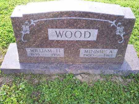 WOOD, MINNIE A. - Ross County, Ohio | MINNIE A. WOOD - Ohio Gravestone Photos