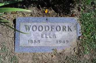 WOODFORK, ELLA - Ross County, Ohio | ELLA WOODFORK - Ohio Gravestone Photos