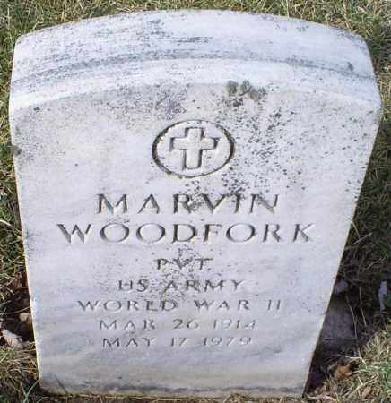 WOODFORK, MARVIN - Ross County, Ohio | MARVIN WOODFORK - Ohio Gravestone Photos
