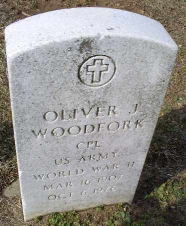 WOODFORK, OLIVER J. - Ross County, Ohio | OLIVER J. WOODFORK - Ohio Gravestone Photos
