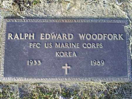 WOODFORK, RALPH EDWARD - Ross County, Ohio | RALPH EDWARD WOODFORK - Ohio Gravestone Photos