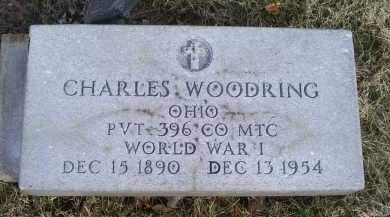 WOODRING, CHARLES - Ross County, Ohio | CHARLES WOODRING - Ohio Gravestone Photos