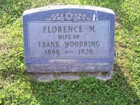 WOODRING, FLORENCE M. - Ross County, Ohio | FLORENCE M. WOODRING - Ohio Gravestone Photos