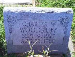 WOODRUFF, CHARLES W. - Ross County, Ohio | CHARLES W. WOODRUFF - Ohio Gravestone Photos