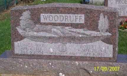 WOODRUFF, EUNICE MAY - Ross County, Ohio | EUNICE MAY WOODRUFF - Ohio Gravestone Photos