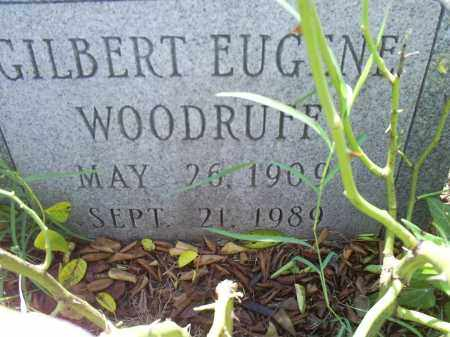 WOODRUFF, GILBERT EUGENE - Ross County, Ohio | GILBERT EUGENE WOODRUFF - Ohio Gravestone Photos