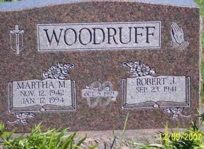 WOODRUFF, MARTHA M. - Ross County, Ohio | MARTHA M. WOODRUFF - Ohio Gravestone Photos